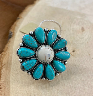 The Flower Power Ring - Ny Texas Style Boutique