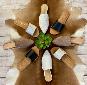 The Ophelia Mules - Ny Texas Style Boutique