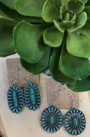 The Prairie Earrings - Ny Texas Style Boutique