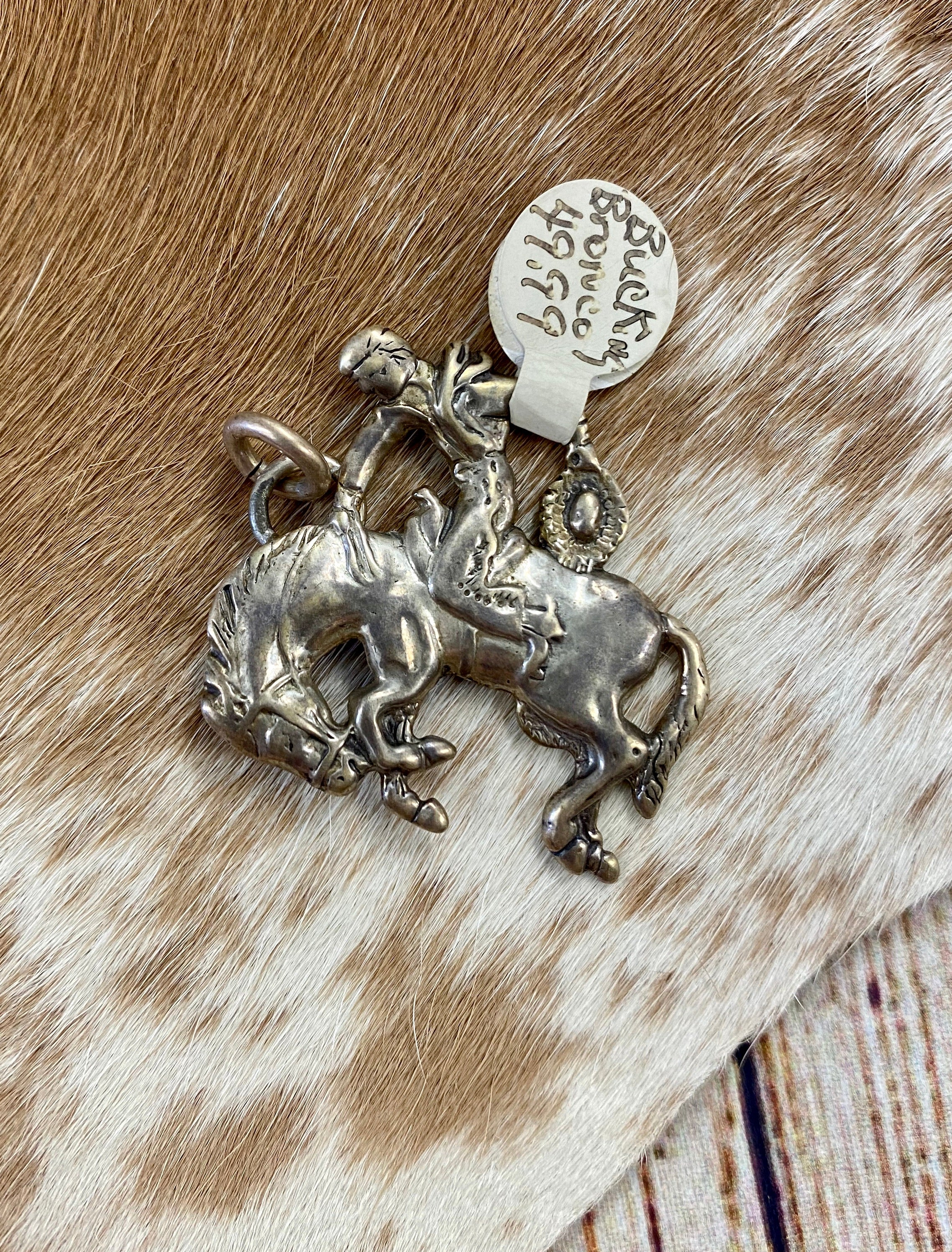The Bucking Bronco Pendant - Ny Texas Style Boutique