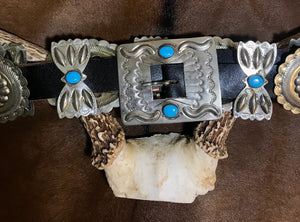 """Amarillo By Morning"" Concho Belt - Ny Texas Style Boutique"