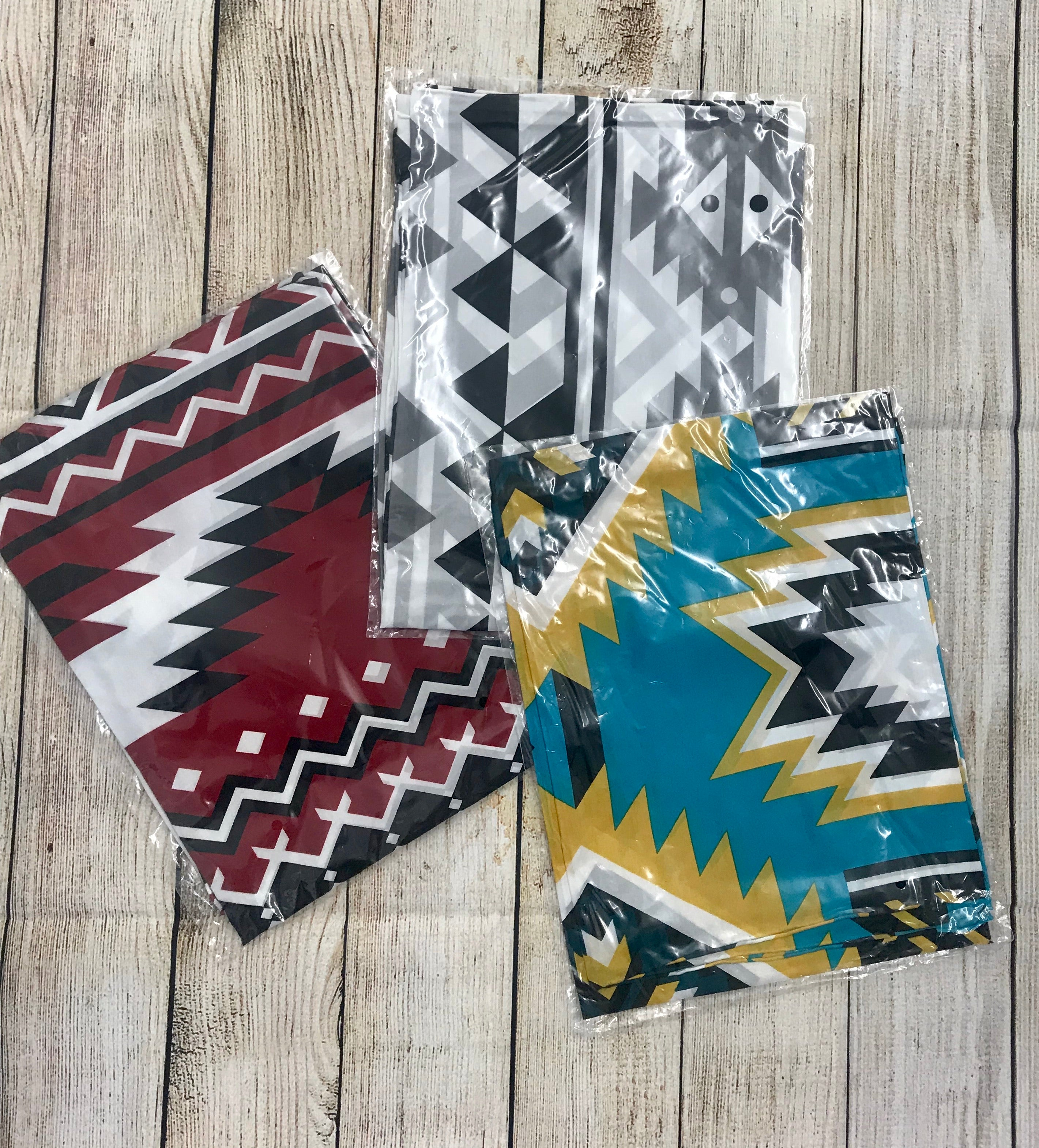 Aztec Tribal Print Wild Rags - Ny Texas Style Boutique