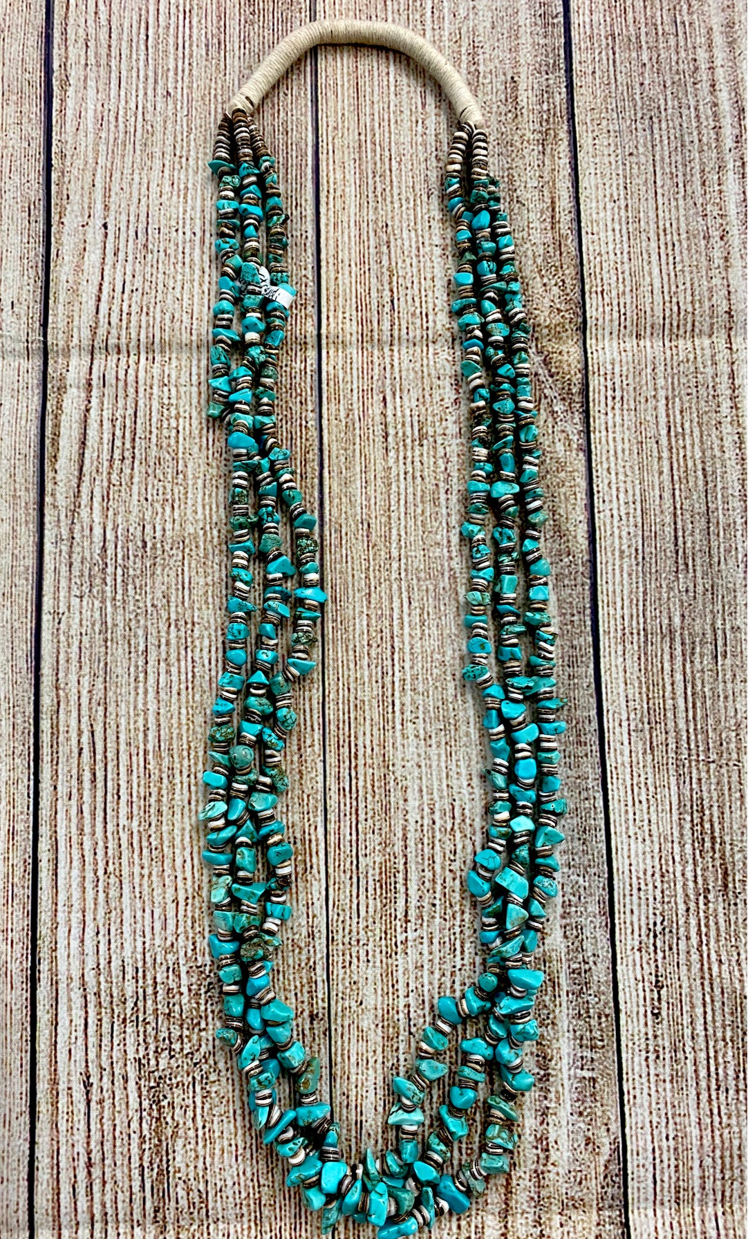 The Longmount Turquoise Necklace - Ny Texas Style Boutique