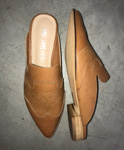 The High Horse Brown Mules - Ny Texas Style Boutique