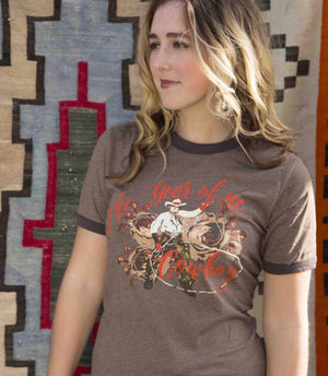 The Year Of The Cowboy Tee - Ny Texas Style Boutique