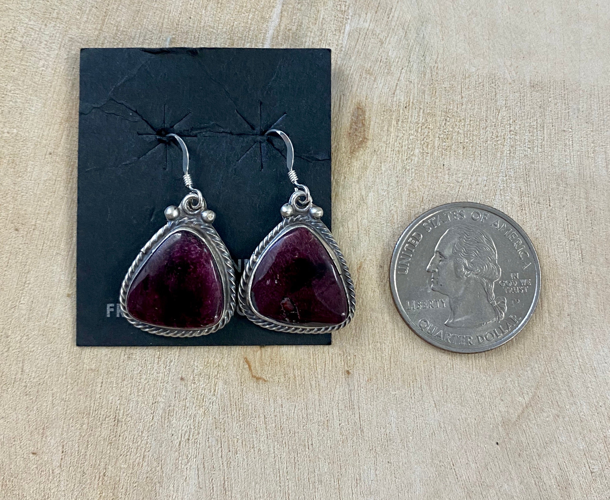 The Hendrix Purple Spiny Oyster Earrings - Ny Texas Style Boutique