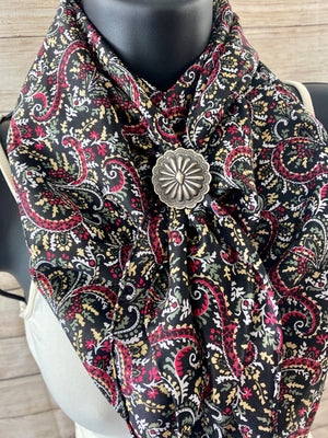 The Red Paisley Wild Rag - Ny Texas Style Boutique
