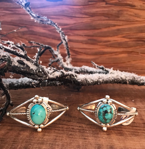 The George Turquoise Cuff's - Ny Texas Style Boutique