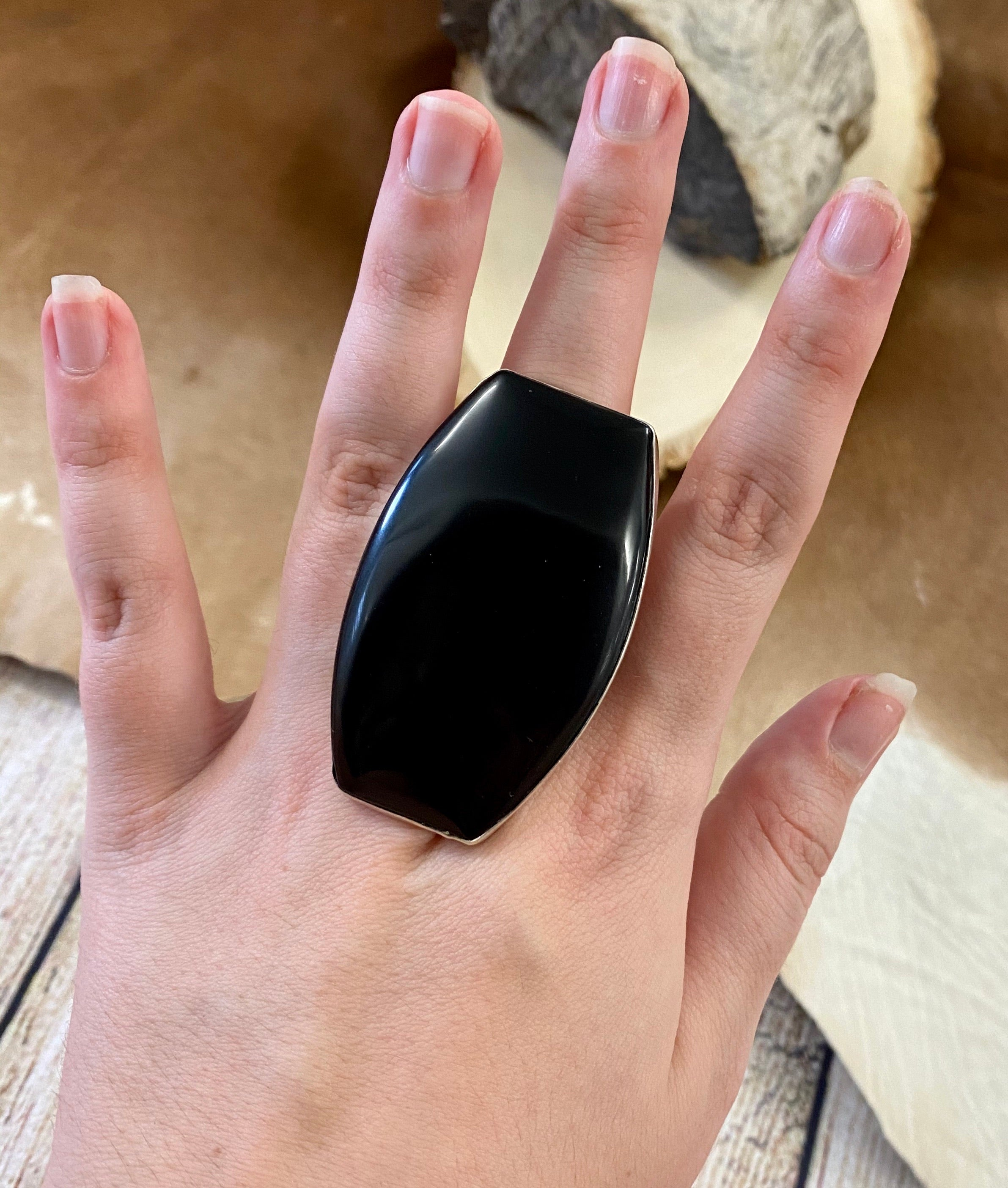 The Huge Onyx JG Ring