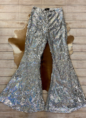 The Sequin Pants Bell Bottoms