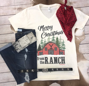 Merry Christmas From The Ranch - Ny Texas Style Boutique