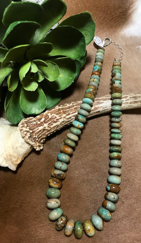 The Doc Holiday Green Turquoise Necklace - Ny Texas Style Boutique