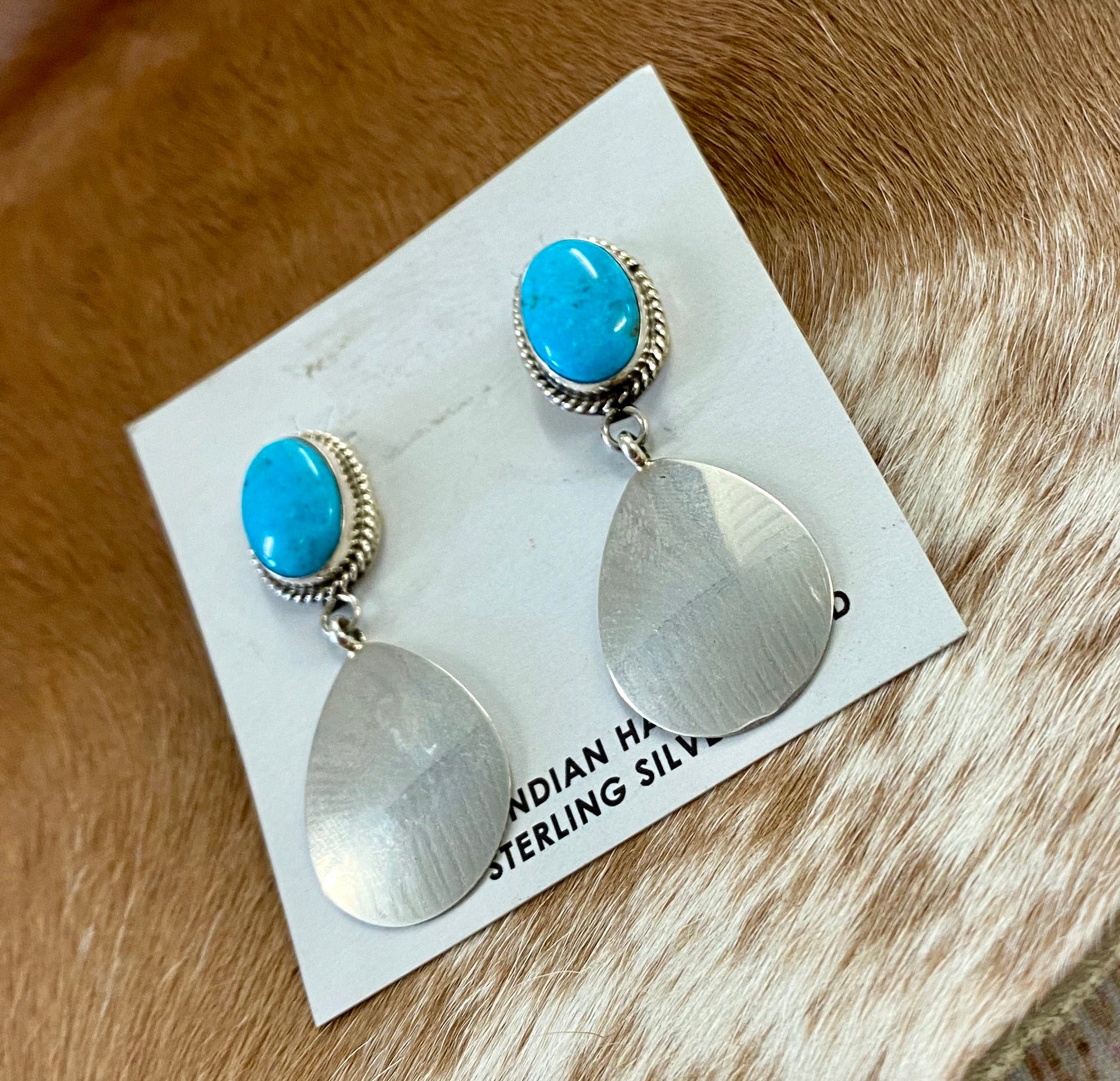 The Lauren Turquoise Earrings - Ny Texas Style Boutique