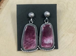 The Purple Spiny Oyster Earrings - Ny Texas Style Boutique