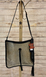 The Comanche Cowhide Purse - Ny Texas Style Boutique