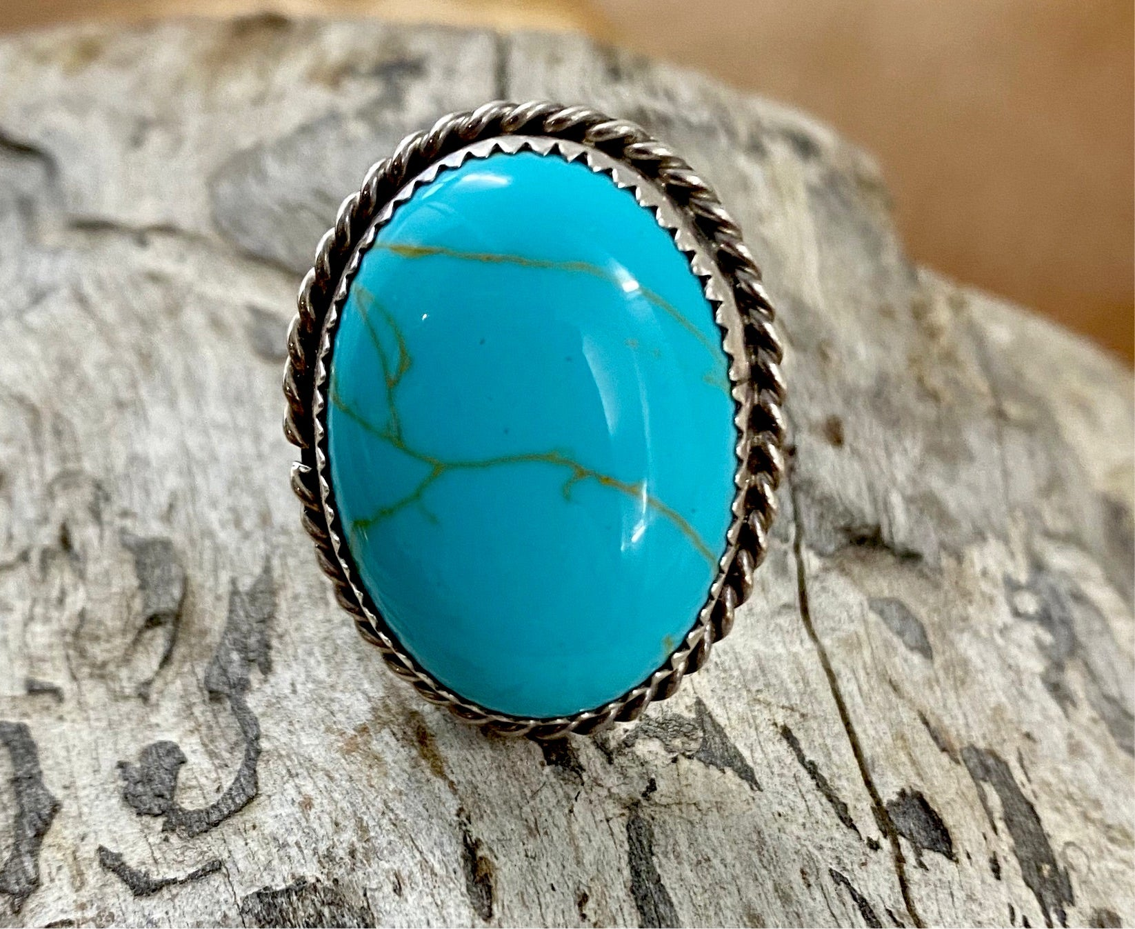 The Martinez Turquoise Ring - Ny Texas Style Boutique