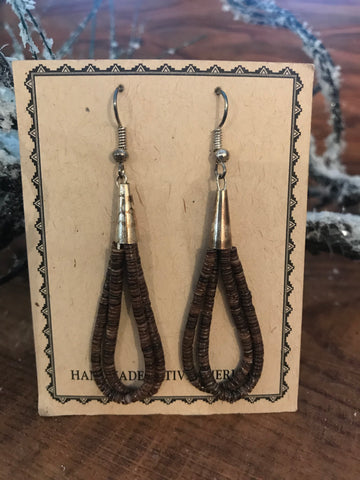 The Chestnutt Heishe Earrings