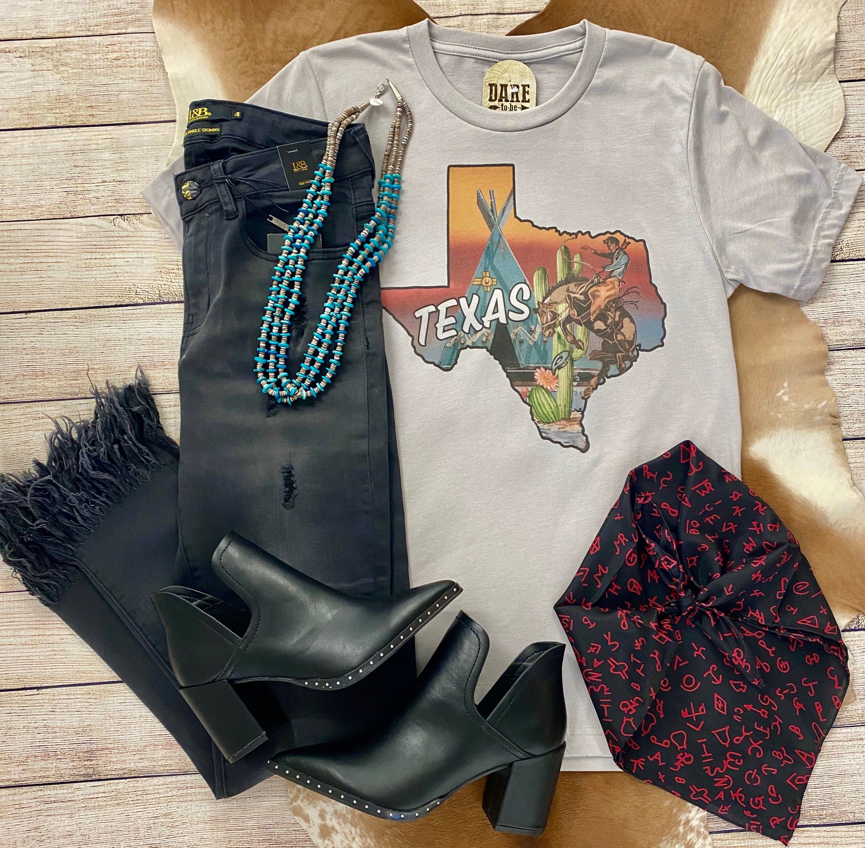 The Keep On Fringin' Black Wash Jean - Ny Texas Style Boutique