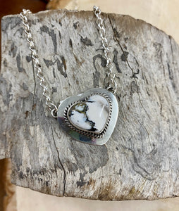 The Heart White Buffalo Pendant Necklace - Ny Texas Style Boutique