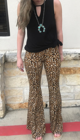 The Leave Her Wild Leopard Pant - Ny Texas Style Boutique
