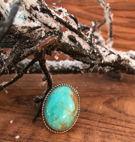 The Lonesome Turquoise Ring - Ny Texas Style Boutique