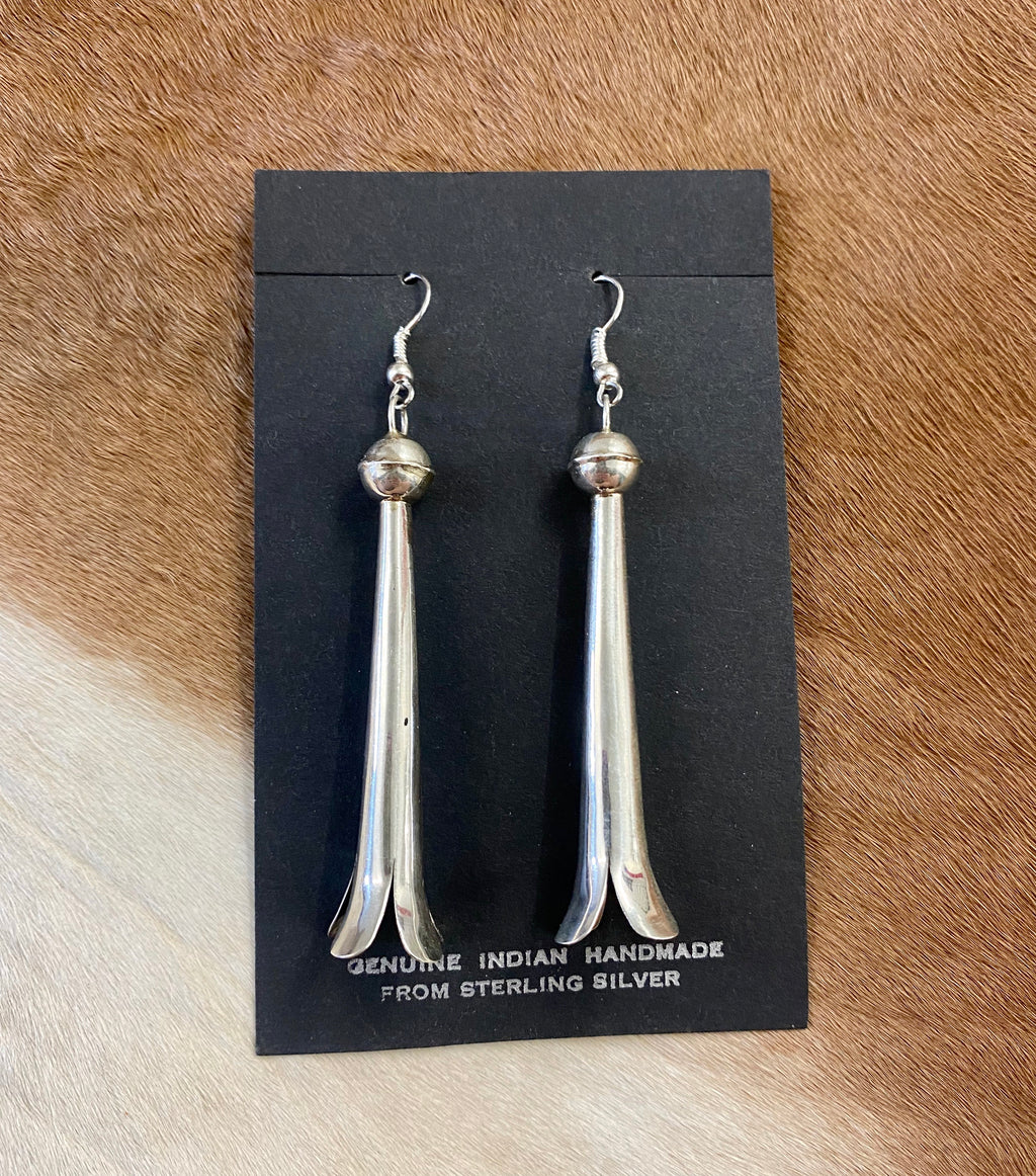 The Long Blossom Earrings