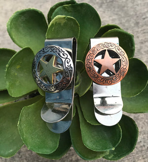 The Lone Star Money Clips - Ny Texas Style Boutique