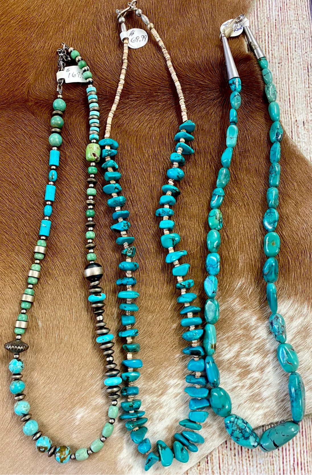 The Stapleton Turquoise Necklace - Ny Texas Style Boutique
