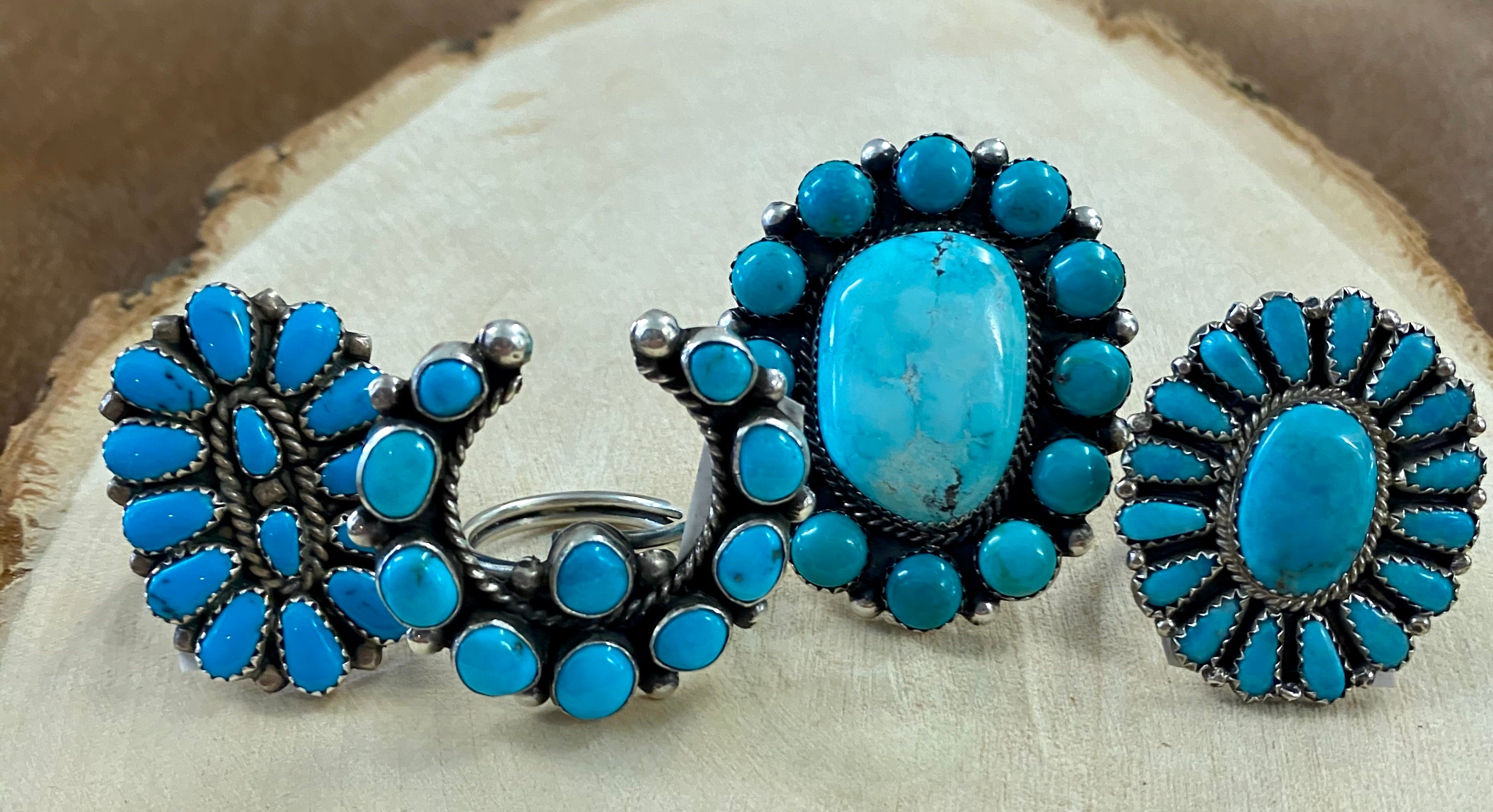 The Victoria Naja Turquoise Ring - Ny Texas Style Boutique