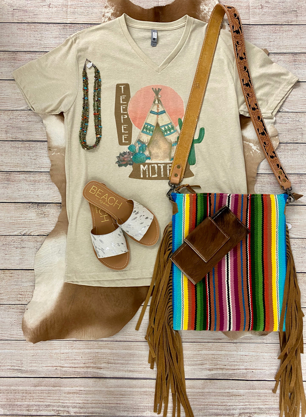 TeePee Motel Tee - Ny Texas Style Boutique