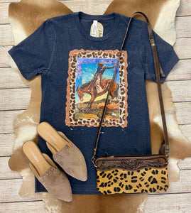 The Bucking Horse Tee - Ny Texas Style Boutique