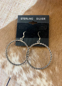 The Sterling Silver Hoops - Ny Texas Style Boutique