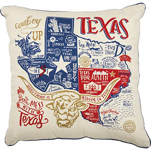 Everything's bigger in Texas Pillow - Ny Texas Style Boutique