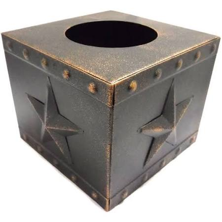 The Texas Star Tissue Box Holder - Ny Texas Style Boutique