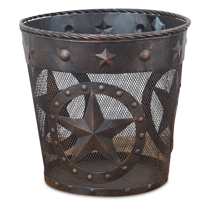 The Texas Star Trash Can - Ny Texas Style Boutique