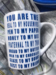 You are the... Best Friend Mug