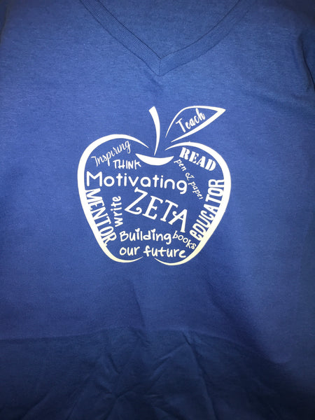 Zeta Educator T-Shirt