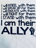 BLM - I am Their Ally