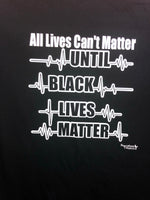 Black Lives Matter T-Shirts (As seen on ABC News 7 NY)