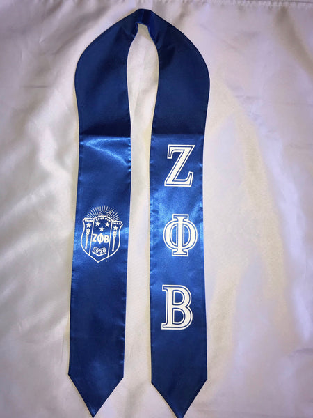 Zeta Phi Beta Sorority, Inc. Stole/Sash