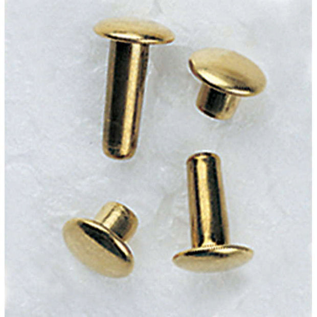 Two Piece Metal Rivets - Small