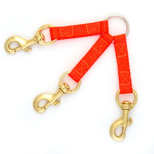Nite Lite Three Dog Nylon Coupler