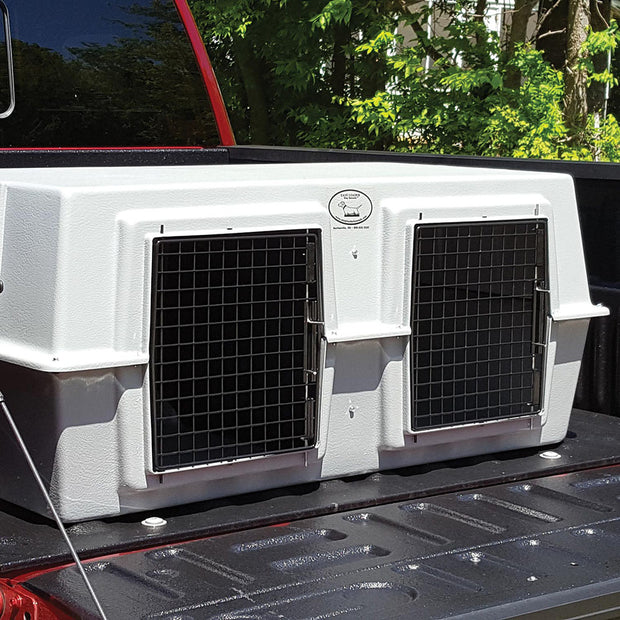 Easy Load Dog Box Kennel For Smaller Trucks