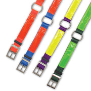 "Nite Lite Reflexite Nylon 3/4"" Ring-N-Center Reflective Dog Collar"