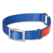 "Nite Lite Reflexite Nylon 1"" Ring-N-Center Reflective Dog Collar"