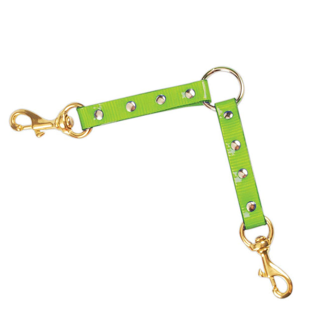 Nite Lite Day-Glo Two Dog Lead Couplers