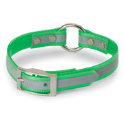 "3/4"" Day-Glo Collar Ring-N-Center with Reflective Strip"