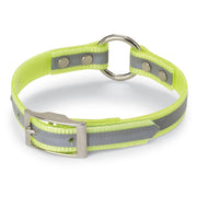 "Nite Lite 3/4"" Day-Glo Collar Ring-N-Center with Reflective Strip"