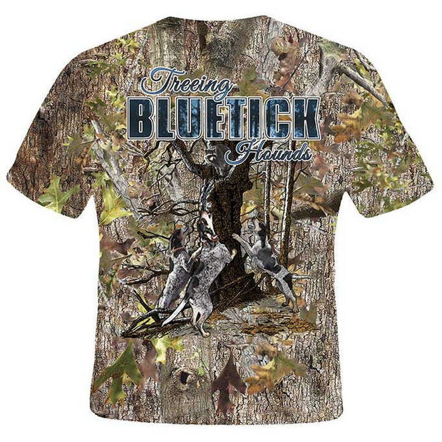 Treeing Bluetick Hounds T-Shirt