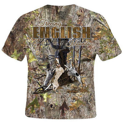 Treeing English Hounds T-Shirt